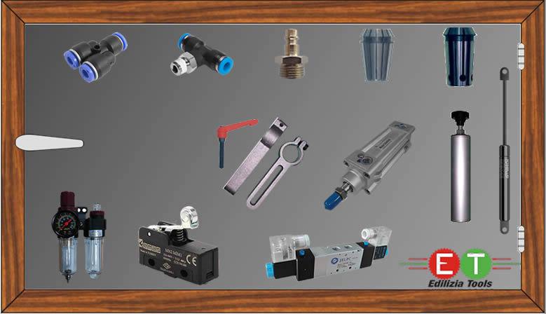 piese de schimb pentru utilaje atelier tamplarie PVC, Aluminiu, alucobond